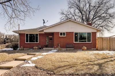 Arvada Single Family Home Under Contract: 6376 Parfet Street