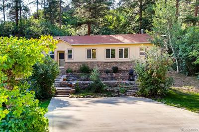 Littleton Single Family Home Active: 9557 South Deer Creek Canyon Road