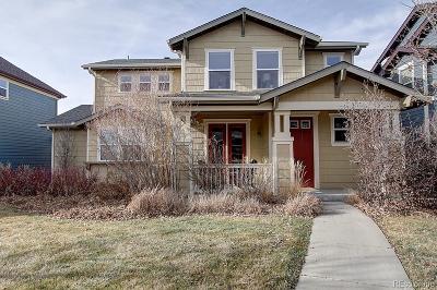 Denver Single Family Home Active: 2261 Verbena Street