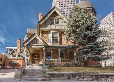 Denver Single Family Home Active: 1665 North Grant Street