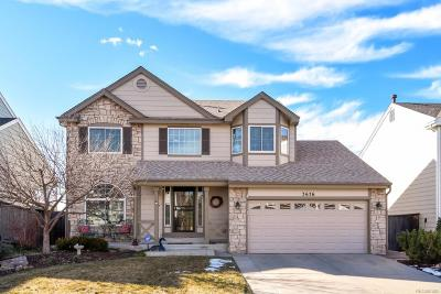 Highlands Ranch Single Family Home Under Contract: 3676 Seramonte Drive