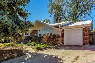 Littleton Single Family Home Active: 4038 West Chenango Avenue