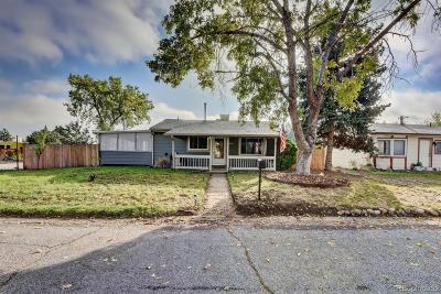 Arvada Single Family Home Active: 5280 Ingalls Street