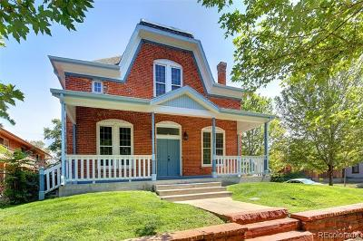 Denver Single Family Home Active: 2404 Clarkson Street