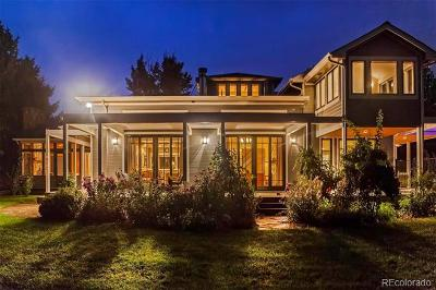 Boulder CO Single Family Home Active: $7,999,000