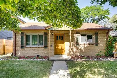Denver Residential Lots & Land Active: 1135 Locust Street