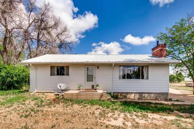 Fort Lupton Single Family Home Under Contract: 17469 County Road 14