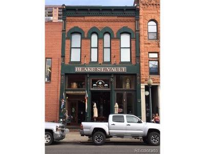 Denver Multi Family Home Active: 1526 Blake Street