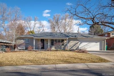 Wheat Ridge Single Family Home Active: 3630 Holland Court