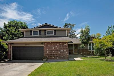 Littleton Single Family Home Under Contract: 6748 West Weaver Avenue