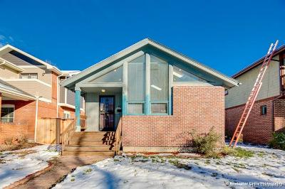 Denver Single Family Home Active: 438 South Franklin Street