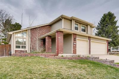 Centennial Single Family Home Active: 8258 South Jasmine Court