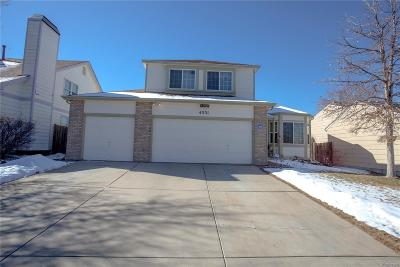 Denver Single Family Home Under Contract: 4331 Liverpool Street
