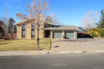 Broomfield Single Family Home Active: 1081 Dexter Street