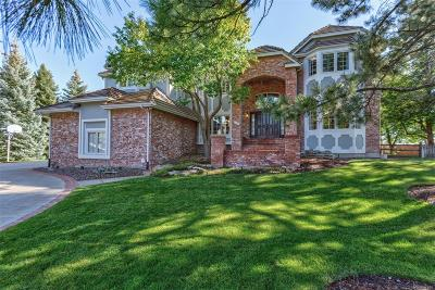 Lone Tree Single Family Home Under Contract: 9594 La Costa Lane
