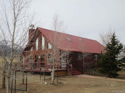 Westcliffe Single Family Home Active: 889 Co Road 171