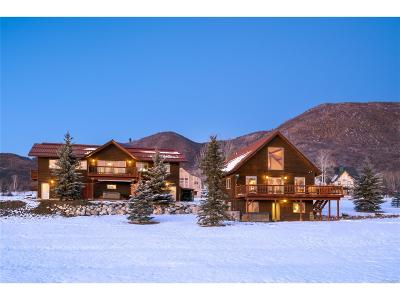 Steamboat Springs Single Family Home Active: 29625 Elk View Drive
