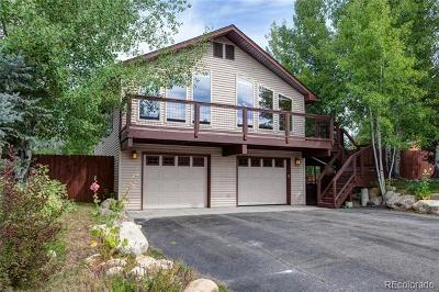 Steamboat Springs Single Family Home Active: 40172 Lindsay Drive