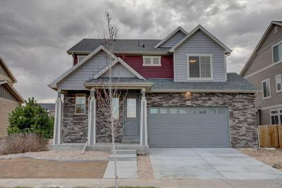 Commerce City Single Family Home Under Contract: 10469 Worchester Drive