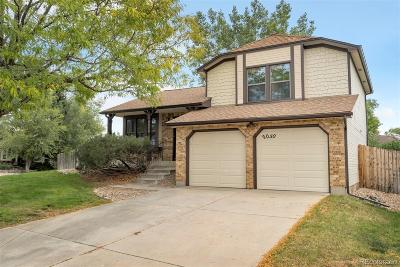 Littleton Single Family Home Active: 8050 South Garland Street