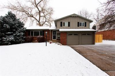 Denver Single Family Home Active: 2791 South Reed Street