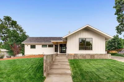 Centennial Single Family Home Active: 5964 South Milwaukee Way