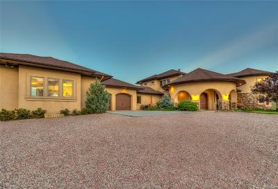 Calhan Single Family Home Active: 11175 Soap Weed Road