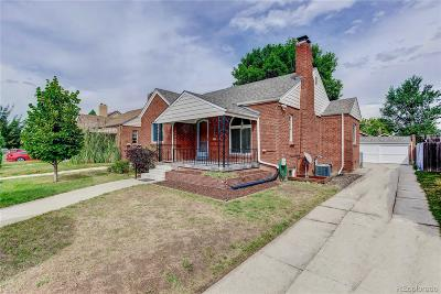 West Colfax Single Family Home Under Contract: 1444 Vrain Street
