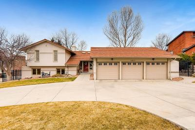 Westminster Single Family Home Under Contract: 11617 Shoshone Way