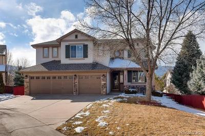 Littleton Single Family Home Active: 9655 South Estes Way