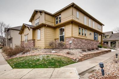 Highlands Ranch Single Family Home Under Contract: 10595 Ashfield Street