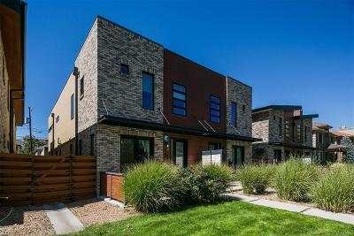 Cherry Creek Condo/Townhouse Sold: 77 South Garfield Street