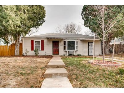 Aurora CO Single Family Home Sold: $248,000