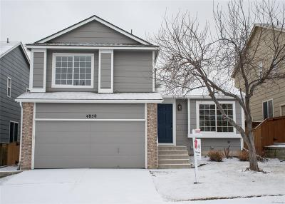 Highlands Ranch Single Family Home Active: 4850 Tarcoola Lane