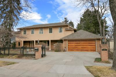 Denver Single Family Home Active: 100 North Lafayette Street