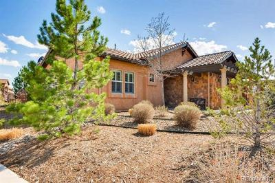 Colorado Springs Single Family Home Active: 13135 Thumbprint Court