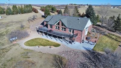 Castle Rock Single Family Home Under Contract: 6229 Lake Gulch Road