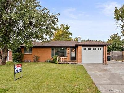 Broomfield Single Family Home Active: 948 East 10th Avenue