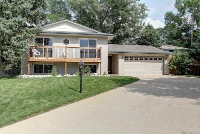 Wheat Ridge Single Family Home Under Contract: 4500 Everett Drive