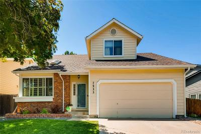 Centennial Single Family Home Under Contract: 7935 South Gaylord Way