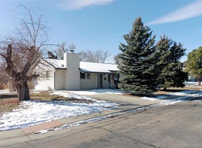 Arvada Single Family Home Under Contract: 9900 West 54th Avenue