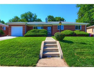 Denver Single Family Home Active: 5482 East Colorado Avenue