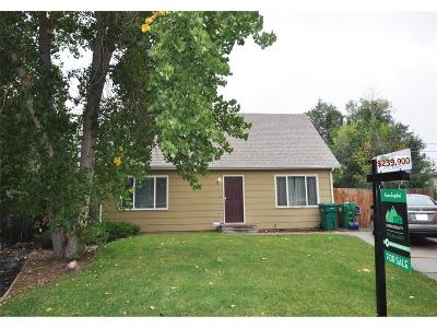 Commerce City Single Family Home Under Contract: 6375 East 79th Court