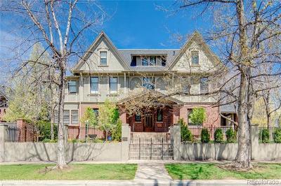 Denver Single Family Home Active: 1433 East 7th Avenue