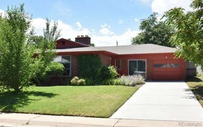 Denver Single Family Home Active: 1551 South Cherry Street