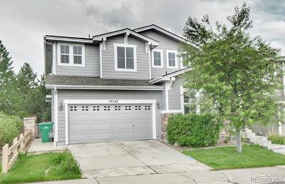 Highlands Ranch Single Family Home Under Contract: 10543 Applebrook Circle