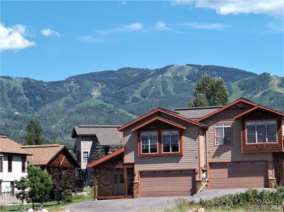 Steamboat Springs CO Condo/Townhouse Active: $725,000