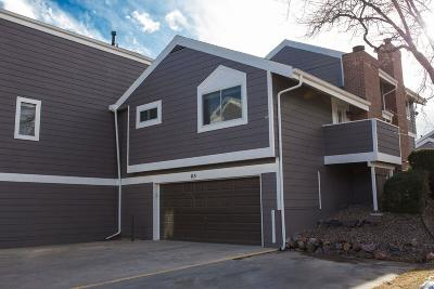 Jefferson County Condo/Townhouse Under Contract: 6620 West 84th Circle #115