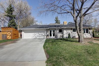 Denver Single Family Home Active: 7101 East 6th Avenue Parkway