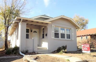 Denver Single Family Home Active: 1437 Rosemary Street